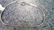 Silver Herringbone Bracelet 925 Silver 3.1g